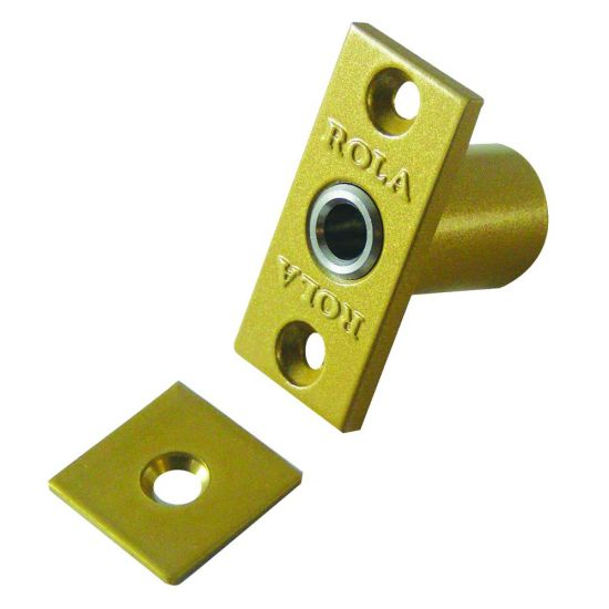 BRAMAH R1 ROLA Retractable Sash Window Stop 14mm PB R1/06