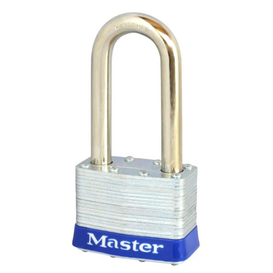 MASTER LOCK Open Shackle Unassembled Laminated Padlock 5LFUP Long Shackle