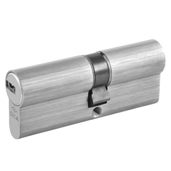 CISA Astral Euro Double Cylinder 80mm 40/40 (35/10/35) KD NP