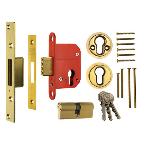 ERA 363 Fortress BS Euro Deadlock With Cylinder 76mm PB