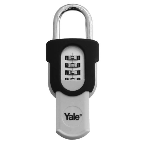 YALE 879 Open Shackle Padlock 50mm KD Visi