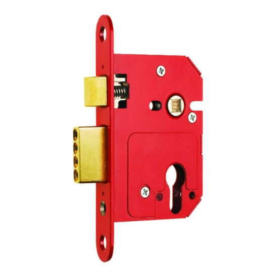 ERA 234 Fortress BS Euro Keyless Egress Key & Turn Sashlock With Cylinder 64mm PB KD Boxed