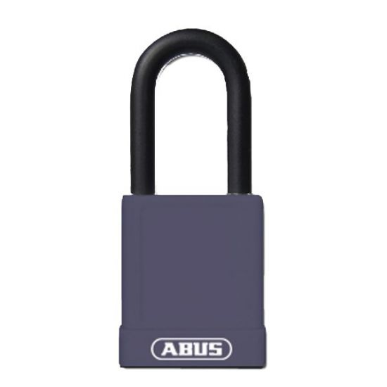 ABUS 74 Series Lock Out Tag Out Coloured Aluminium Padlock Purple