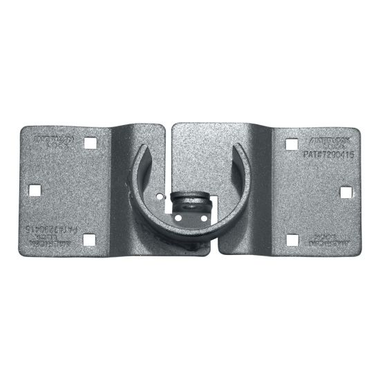 MASTER LOCK - American Lock A802 High Security Hasp for Hidden Shackle Padlocks A802 - Rear Doors Offset