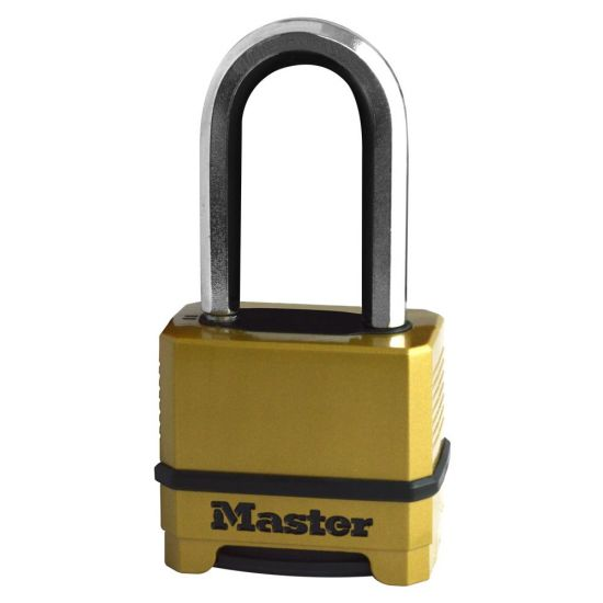 MASTER LOCK M175EUR 4 Digit Combination Thermo Padlock M175EURDLH 51mm Shackle
