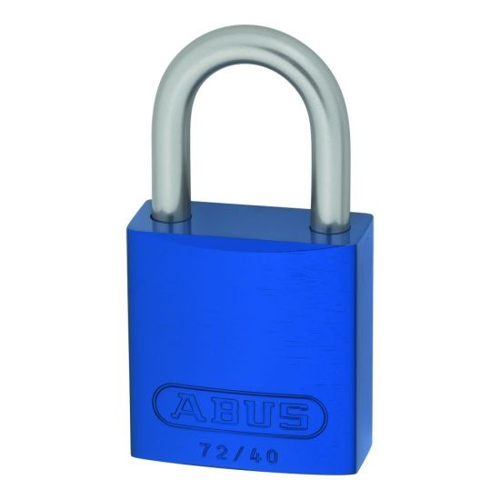ABUS 72LL/40 Anti-Rust Love Lock Padlock Blue