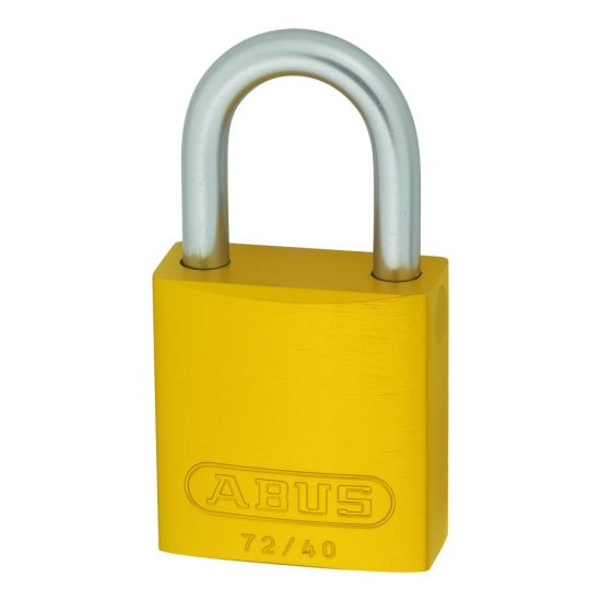 ABUS 72LL/40 Anti-Rust Love Lock Padlock Yellow