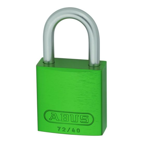 ABUS 72LL/40 Anti-Rust Love Lock Padlock Green