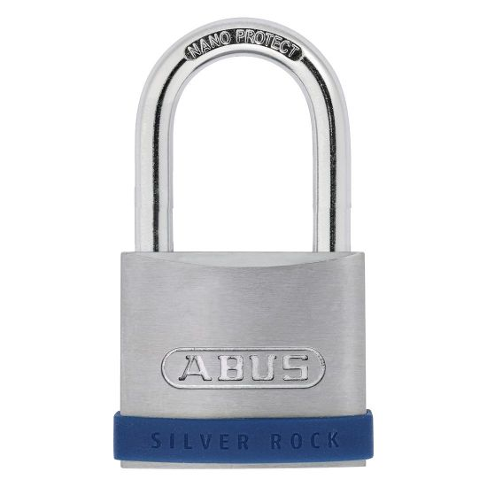 ABUS Silver Rock 5 Long Shackle Padlock 40mm KA Boxed