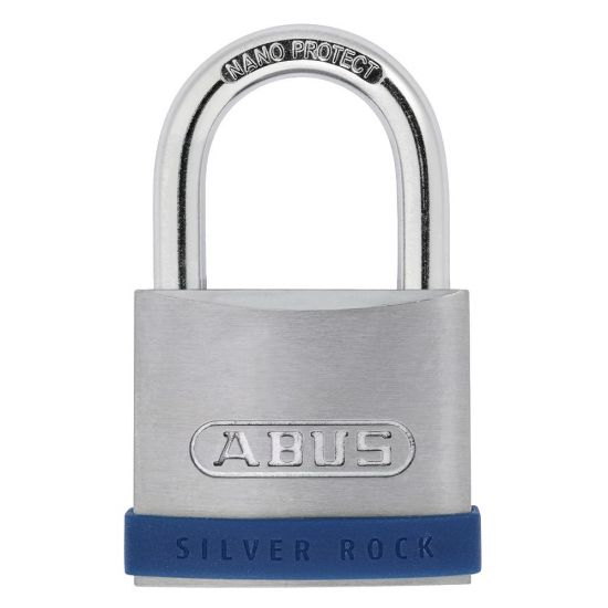 ABUS Silver Rock 5 Open Shackle Padlock 55mm KD Visi