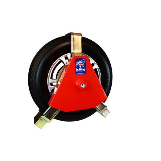 BULLDOG Centaur Heavy Duty Wheel Clamp - Adjustable Width CA2500 - Suits Wheel Diameter Max: 800mm Min: 760mm (ideal for 4x4s)