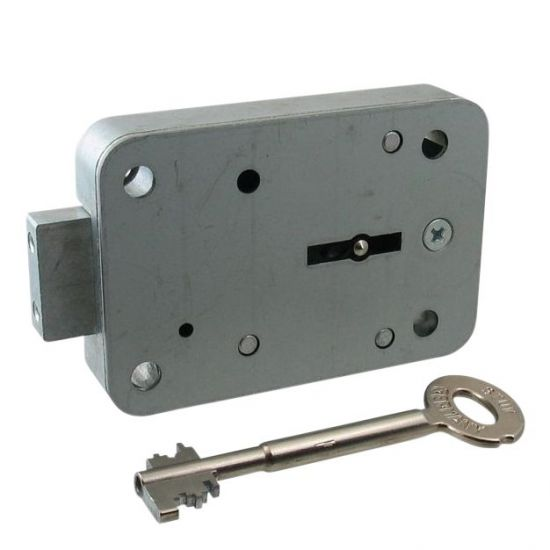 STUV Double Bitted Safe Lock 90mm Key