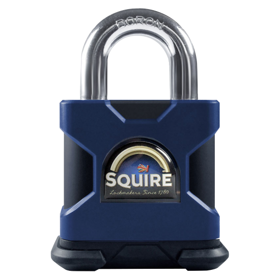 SQUIRE Stronghold Open Shackle Padlock Body Only To Take KIK2 Insert 65mm - Click Image to Close