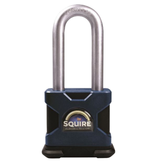 SQUIRE Stronghold Long Shackle Padlock Body Only To Take KIK2 Insert 65mm