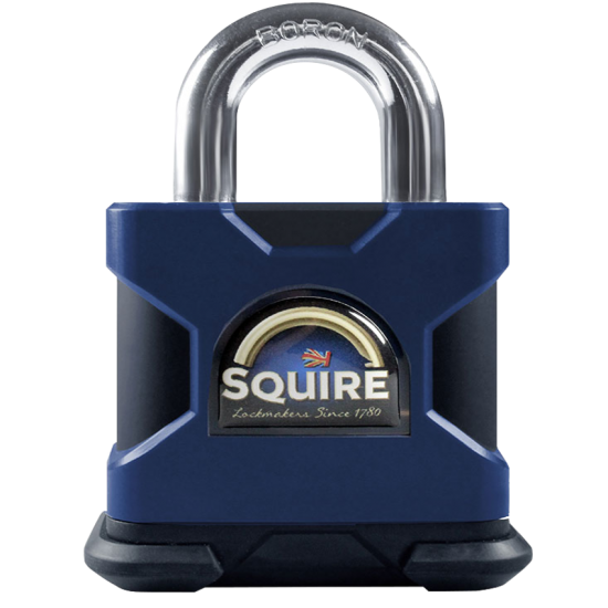 SQUIRE Stronghold Open Shackle Padlock Body Only To Take KIK2 Insert 80mm