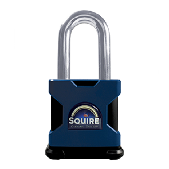 SQUIRE Stronghold Long Shackle Padlock Body Only To Take Scandinavian Oval Insert 65mm Slot