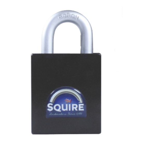 SQUIRE Stronghold Open Shackle Padlock Body Only To Take Half Euro Cylinder 55mm