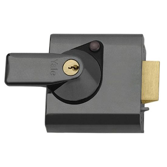 YALE PBS1 & PBS2 Auto Deadlocking Nightlatch 60mm DMG CASE - PB CYL Visi