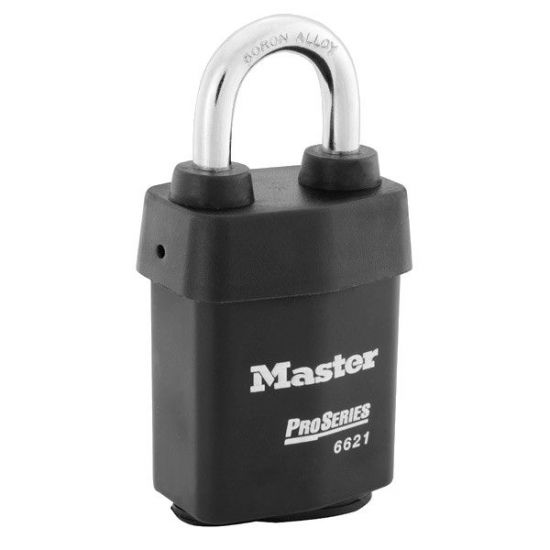 MASTER LOCK Pro-Series Padlock 53mm Open Shackle - 6621WO