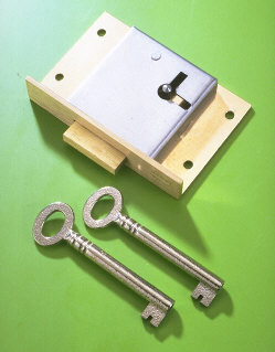 3'' Drawer Lock No.20DTP - 1'' to Pin - Click Image to Close