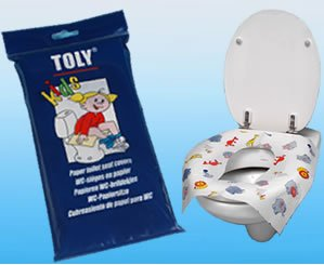 kids disposable paper toilet seat covers 1 pack of 30